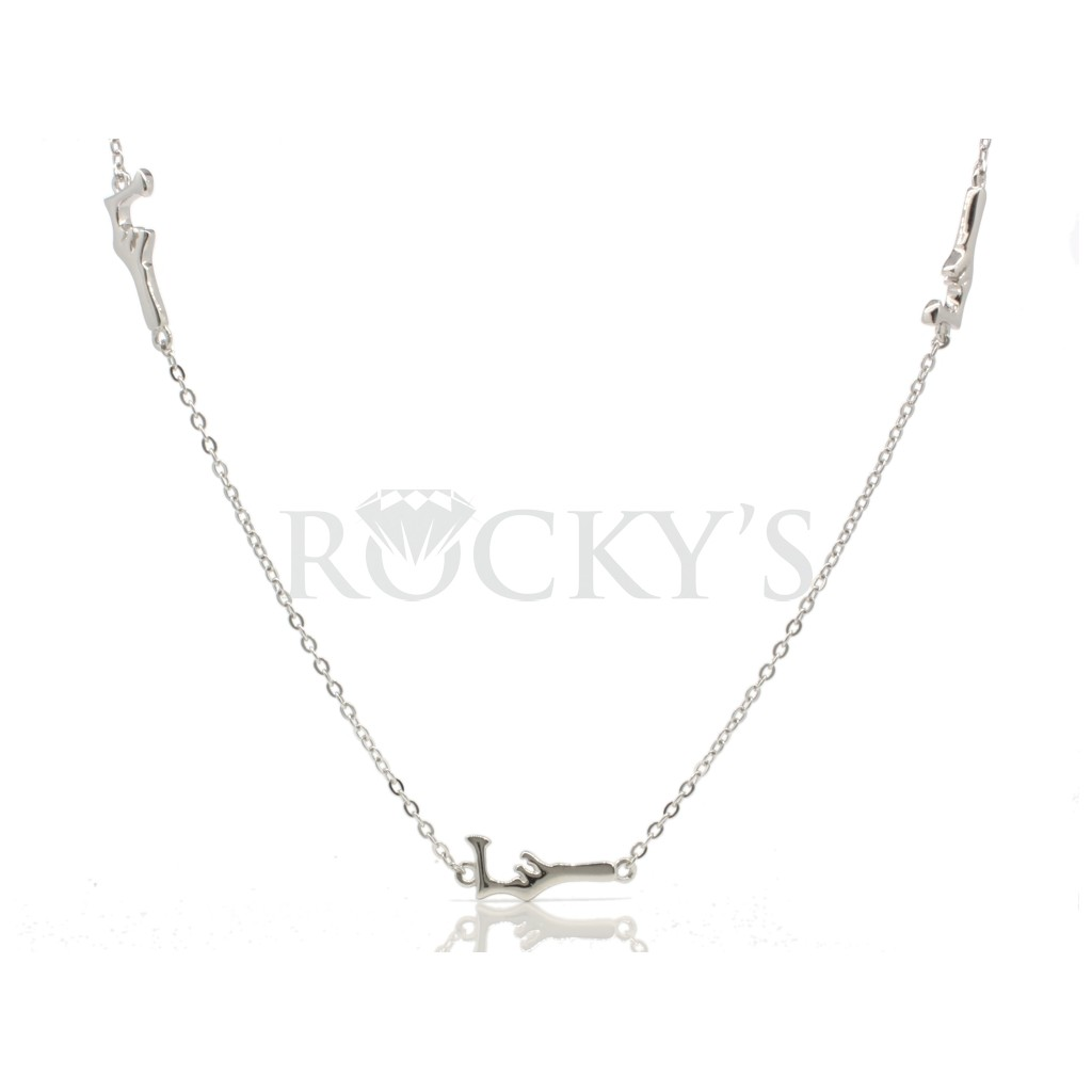 Sterling silver Grand Cayman anklet
