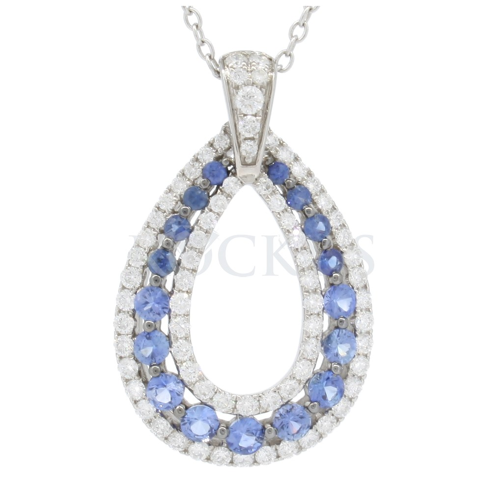 Sapphire Pendant with 2.65 carats