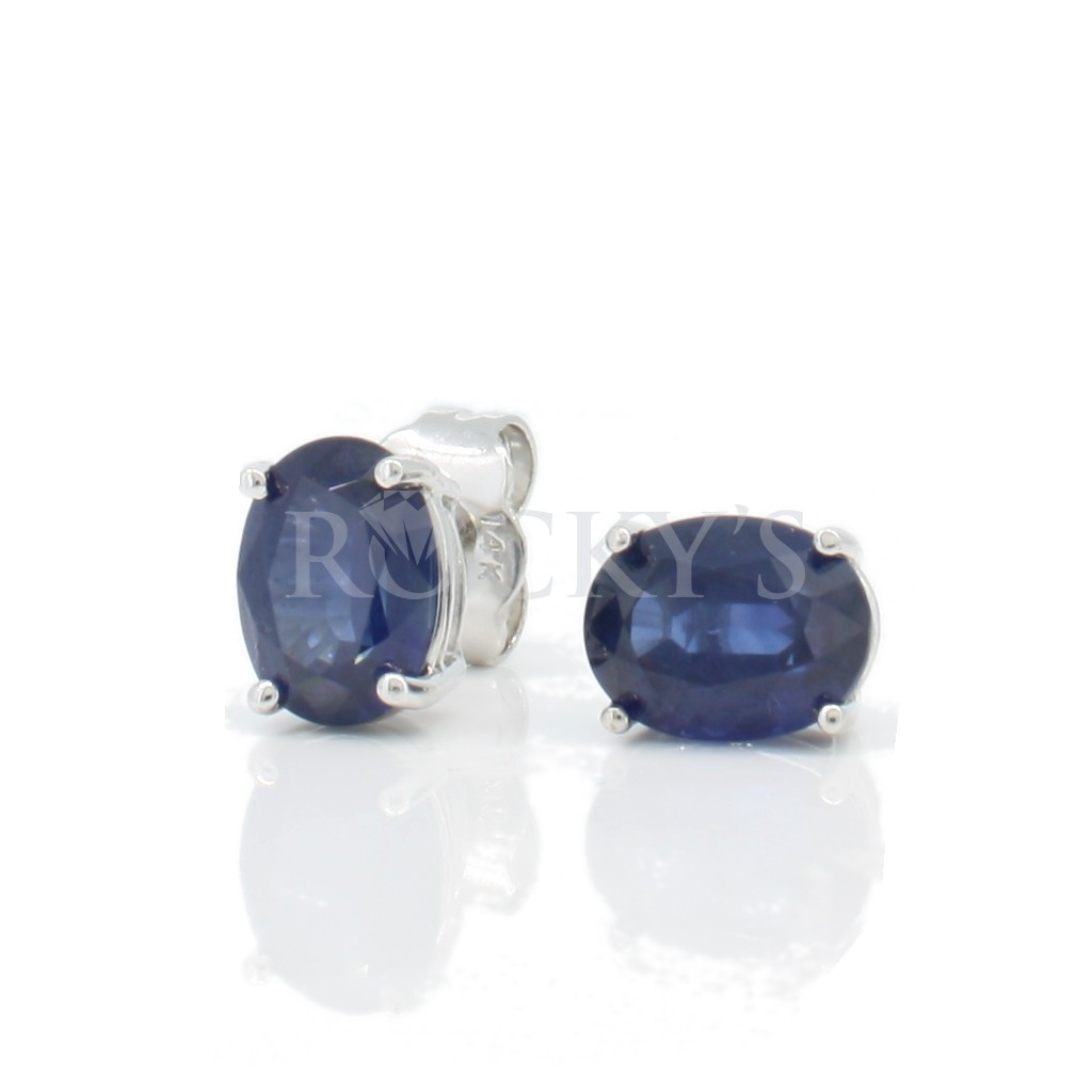Sapphire studs with 3.00 carats