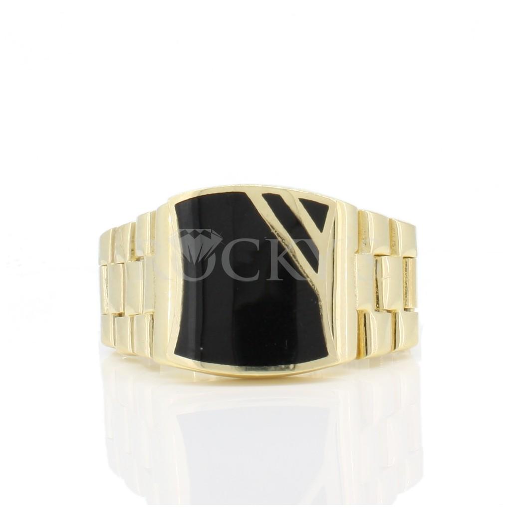 Onyx men's ring