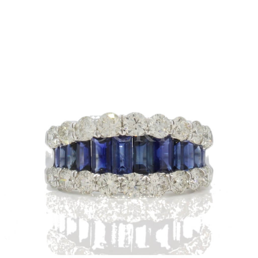 Sapphire Ring with 3.90 Carats