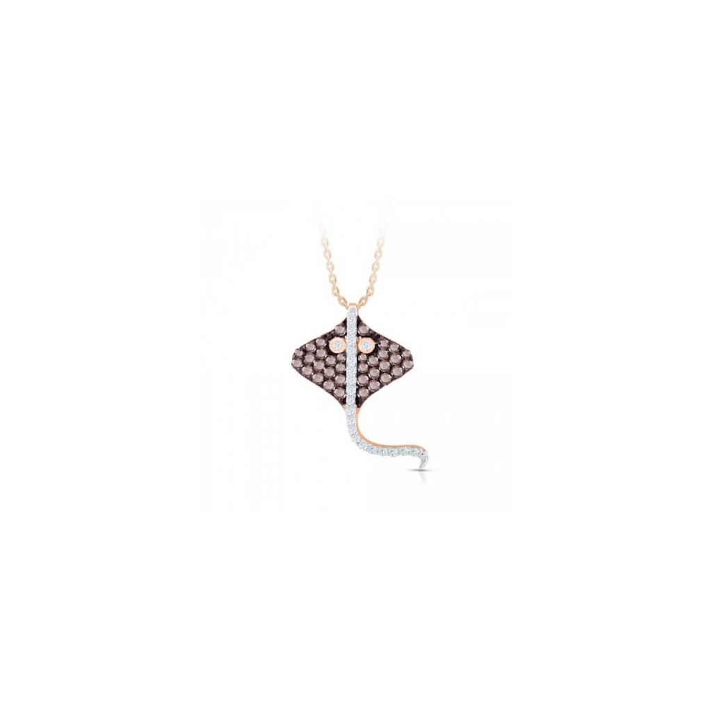 Brown Diamond Sea Life Collection - Stingray