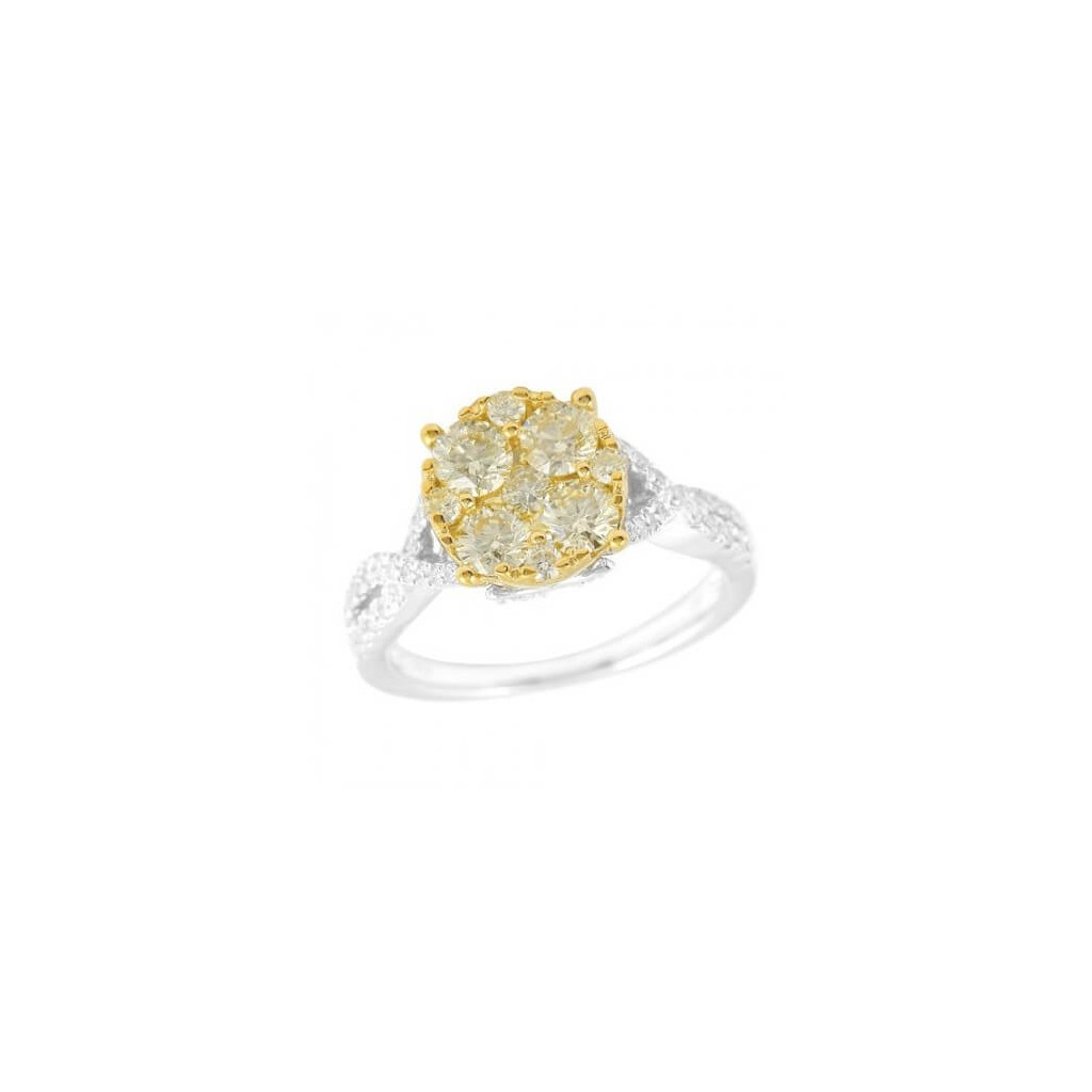 Diamond Ring with 1.65 Carats
