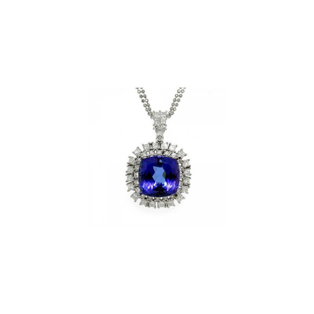 Tanzanite Pendent with 14.98 Carats