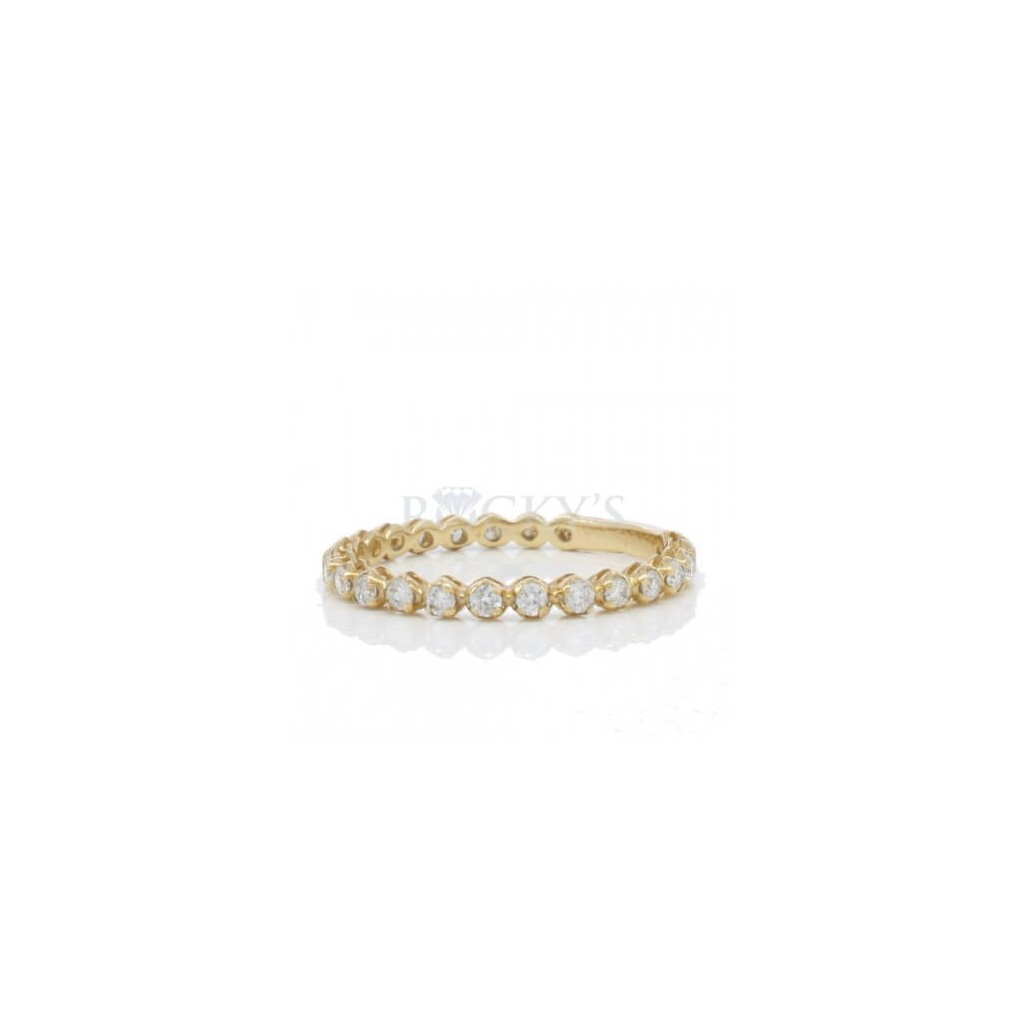 Stackable Band with 0.50 Carats