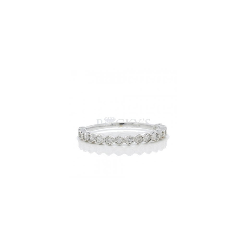 Stackable Band with 0.25 Carats