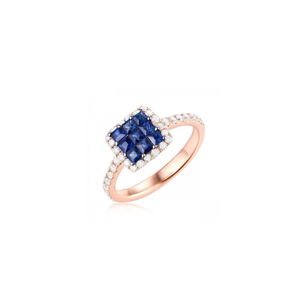 Sapphire Ring with 1.20 Carat