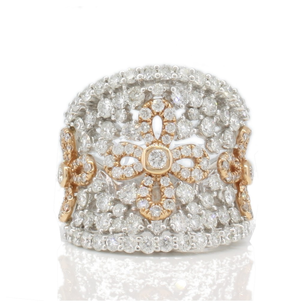 Trinity Collection Diamond Ring with 2.73 Carats