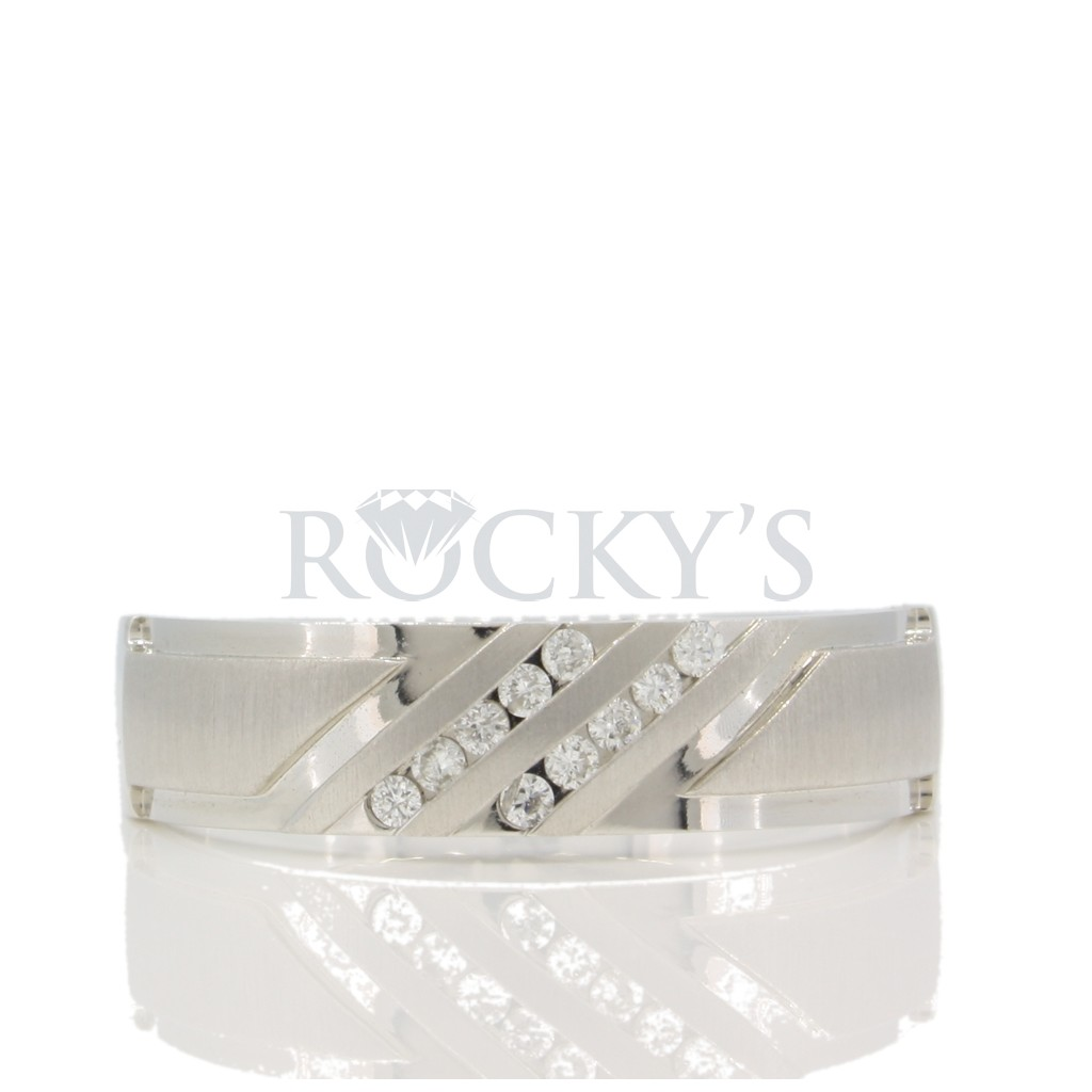 Men's Diamond Band 0.10 carats