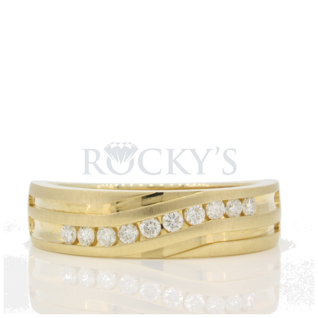Men's Diamond Ring with 0.25 carats