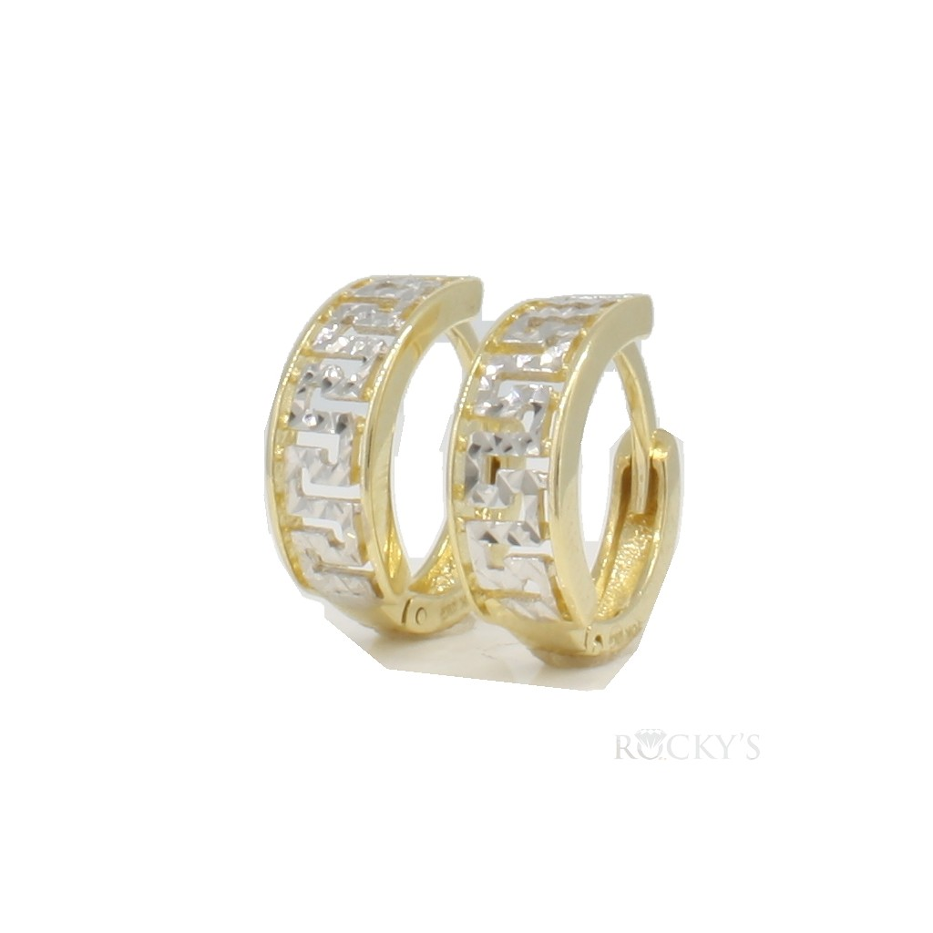 10k Yellow Gold Huggies Earring-36796