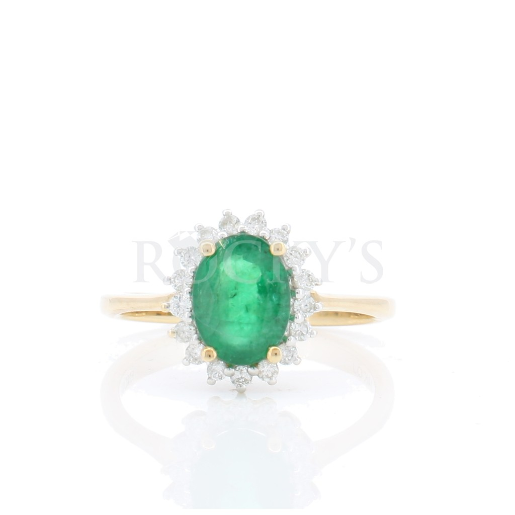Emerald Ring with 1.46 Carats